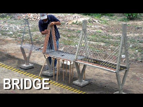 FINISHED mini BRIDGE CONSTRUCTION