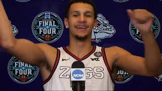 Gonzaga Semifinal Postgame Press Conference - 2021 NCAA Tournament