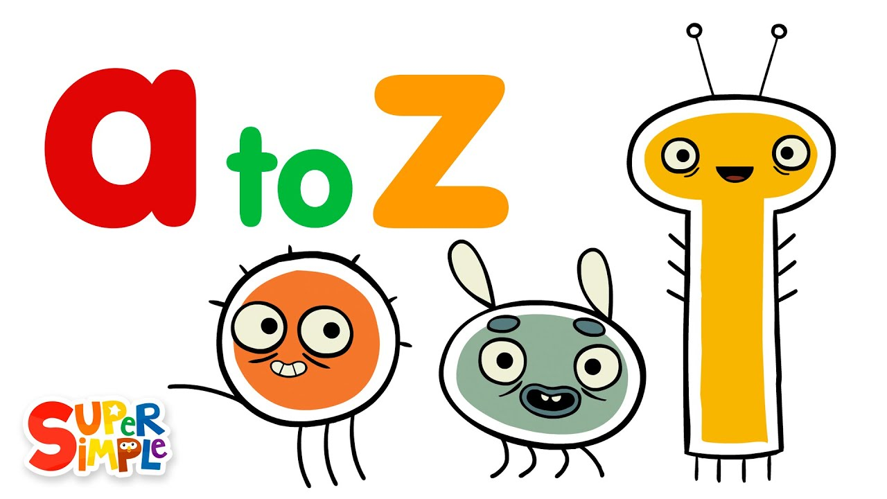 Alphabet For Kids: Learn Letters a to z with Pratfall ABCs!
