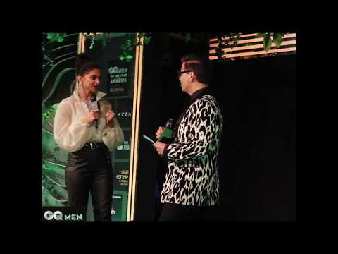 Deepika Padukone wins the Creative Personality of the Year at GQ Awards 2018