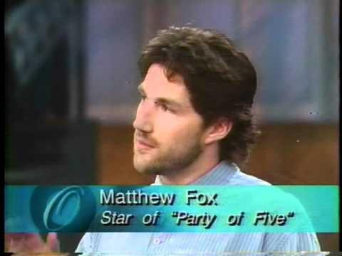 Matthew Fox Charlie Salinger Party of Five  Oprah 1996