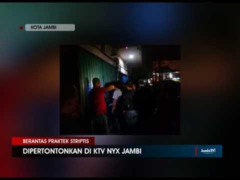 KTV NYX JAMBI DISEGEL POLISI