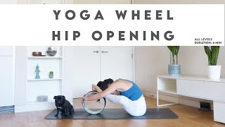 How To Use Yoga Wheel To Open Tight Hips | Lydia Lim Yoga
