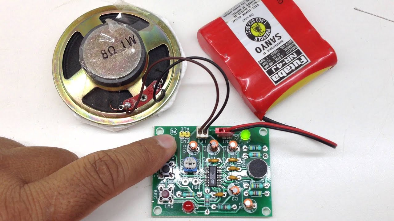 Voice Recorder Playback Circuit Auto Electrical Wiring Diagram Isd25120 Recording Record Module