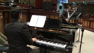 Recital de fagot y piano - 17 Nov 2014 - Bloque 2