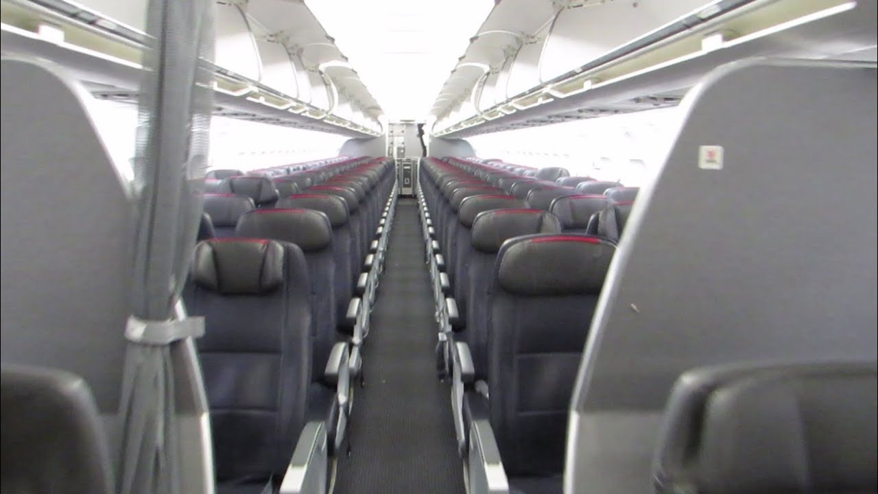 American A319 Cabin Tour V2 Youtube