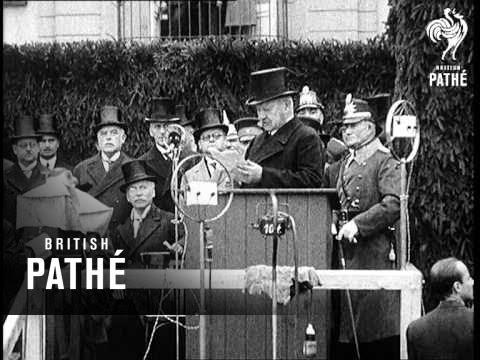Reichsprassident Von Hindenburg Am Rhein! Aka Reichsprafident (1930)