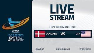 Denmark v United States - U-18 Men's Softball World Cup 2020 - Opening Round