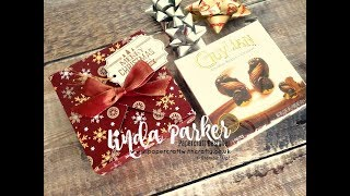 Countdown To Christmas Project No 3 - Envelope Punch Board Guylian Gift Box