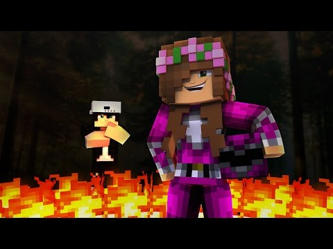 PINK POWER RANGER TOUGHEST BATTLE YET! Minecraft Little Kelly (Roleplay) - Видео из Майнкрафт (Minecraft)