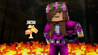 PINK POWER RANGER TOUGHEST BATTLE YET! Minecraft Little Kelly (Roleplay)