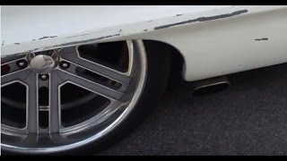 Gibson MWA Series Mufflers Side Exhaust 1964 Chevrolet Impala Super Sport SS 6.0 LS Supercharged