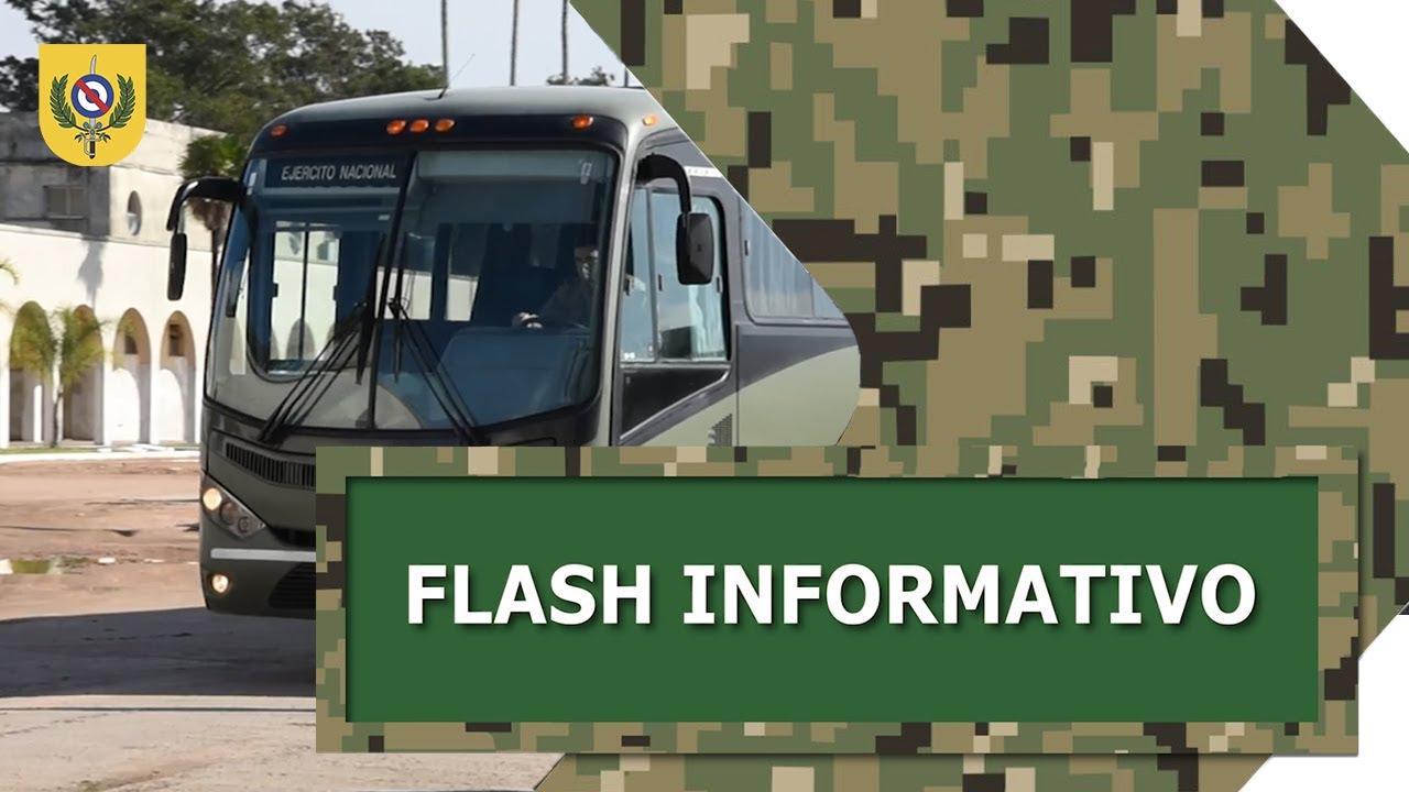 Flash Informativo - Traslado de efectivos