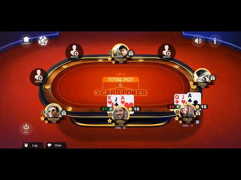 Three Card Poker - Online Casino Table Game