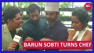 Barun Sobti Turns Chef For A Day With 'Tu Hai Mera Sunday' Starcast