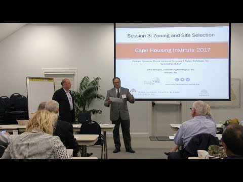 Cape Housing Institute Session 3: Zoning and Site Selection