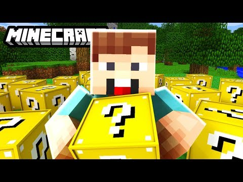 DENIS vs LUCKY BLOCK Mod CHALLENGE! | Minecraft