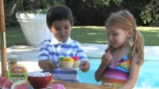 Childrens Garden Picknick Bench And Chairs Set Kidkraft 0043