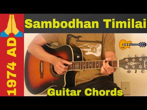 Sambodhan  timilai  1974 AD guitar chords