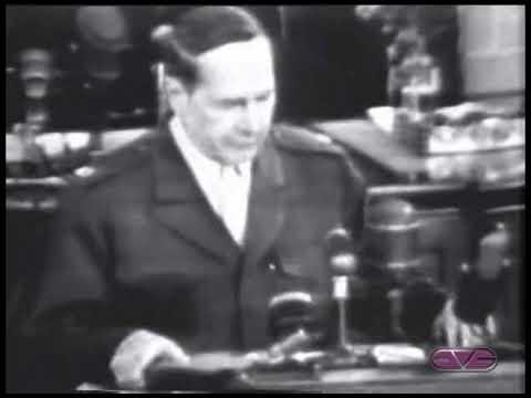 General Douglas MacArthur Farewell Speech to Congress