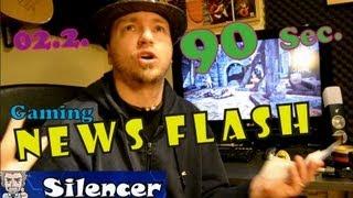 90 Sekunden News Flash und Meinungen 02.02. Playstation 4 Far Cry 3 Chivalry