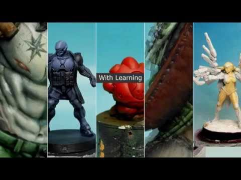 Painting Miniatures from A to Z, Angel Giraldez Masterclass Vol. 1