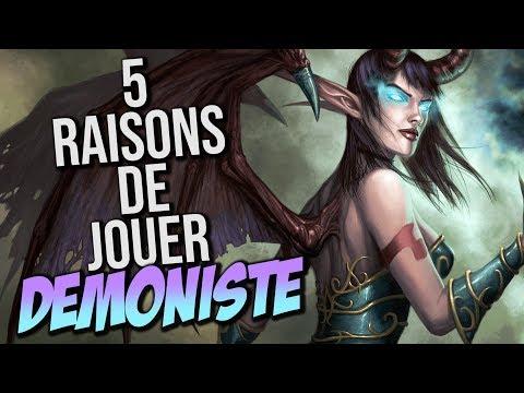 5 RAISONS DE JOUER DÉMONISTE WOW