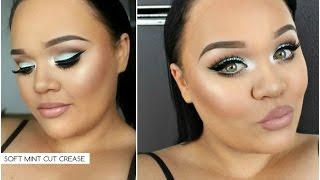 Soft Mint Cut Crease Makeup Tutorial | Makeupwithjah