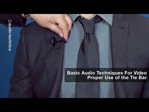 Basic Audio Techniques for Video: Proper Use of the Tie Bar