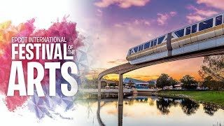 Epcot's International Festival Of The Arts 2019 - Opening Day 🎨 || Food, Artists, Shows & More!