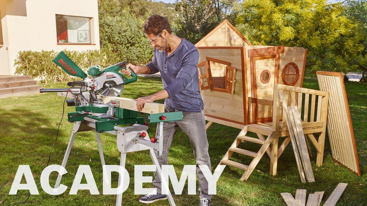 Storslået Bosch academy: Kap- og geringssav PCM 8 SD - YouTube HP26