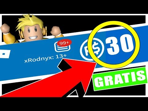 COMO TENER TUS PRIMEROS 30 ROBUX GRATIS!!! 2017