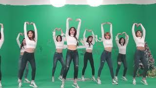 [mirrored & 50% slowed] TWICE - HEART SHAKER Dance Video (Studio Ver.)