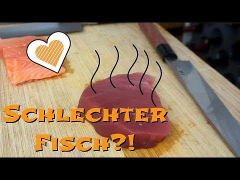 Rohen Fisch Essen? So Nicht!