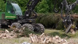 Pokaz leśnych maszyn wielofunkcyjnych, Harverder, Forwarder