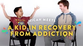 Kids Meet a Kid in Recovery from Addiction (Micah) | Kids Meet | HiHo Kids