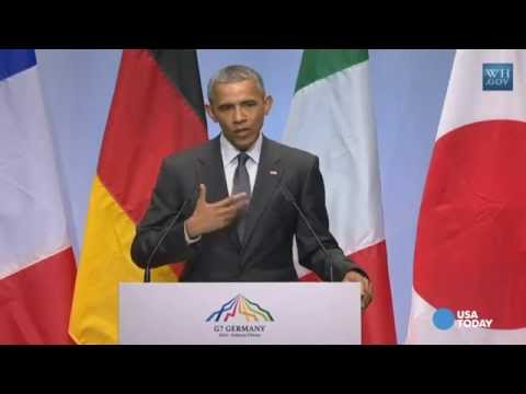 Obama: G-7 ready to impose more sanctions on Russia