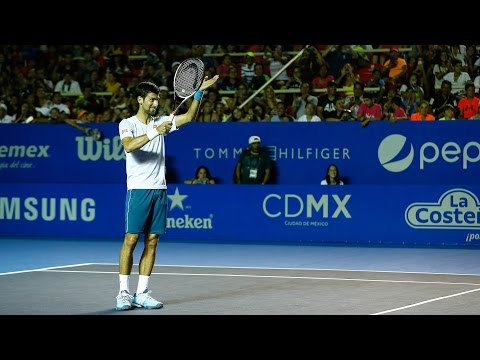 Djokovic And Nadal Wow Huge Crowds In Acapulco 2017
