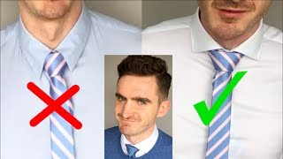 如何打领带更帅 |  3个最重要的领带打法
