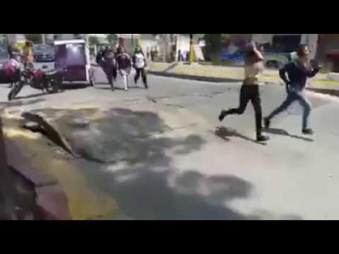"""Ziemia """"oddycha"""" podczas trzęsienia ziemi w Meksyku"""