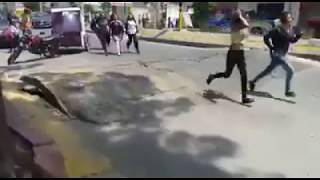 Earthquake Mexico Incredible Weird Video  Earth 'Breathing' 19-09-2017