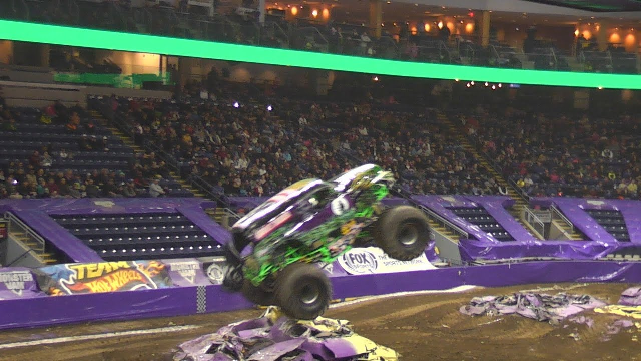 Monster Truck Show Bridgeport Ct Youtube