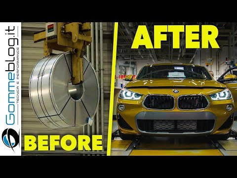 2018 BMW X2 Car Factory - HOW ITS MADE SUV Production Manufacturing Assembly Line