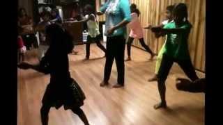 Pushpanjali practice