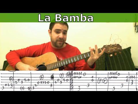 Tutorial: La Bamba - Fingerstyle Guitar (w/ TAB)