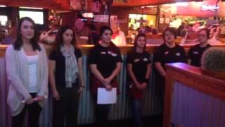 Texas Roadhouse Veteran's Day National Anthem