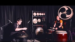 Handpan & Taiko - Loris Lombardo and Piero Nota