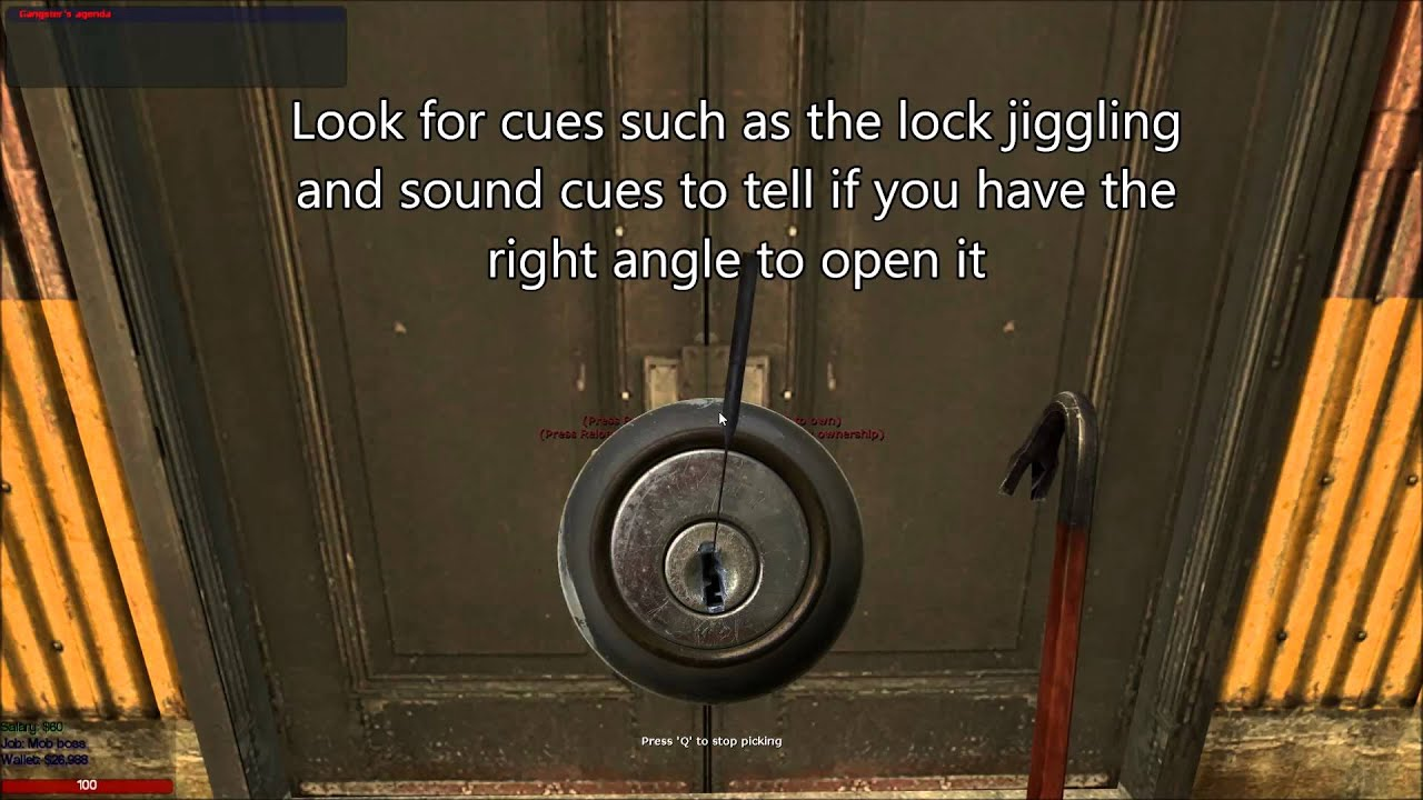 how to use lockpick in skyrim