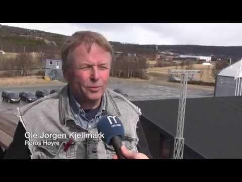 Ole Jørgen Kjellmark om flyplassen på Røros