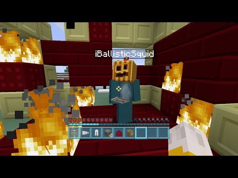 Minecraft Xbox - The Legend Of The Holy Grail - Setting Fire To The Town - Part 1
